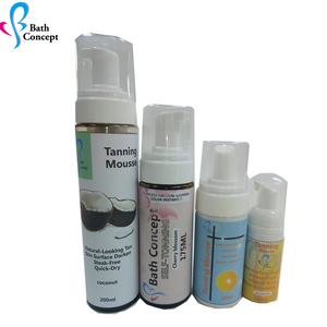 OEM Wholesale Self Tanning Lotion Private Label Tanning Mousse